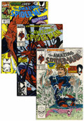 Modern Age (1980-Present):Superhero, The Amazing Spider-Man Short Box Group (Marvel, 1980s-90s)Condition: Average VF/NM....