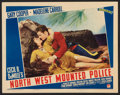 "Movie Posters:Adventure, North West Mounted Police (Paramount, 1940 & R-1958). LobbyCards (3) (11"" X 14""). Adventure.. ... (Total: 3 Items)"