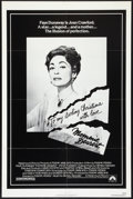 """Movie Posters:Cult Classic, Mommie Dearest (Paramount, 1981). One Sheet (27"""" X 41""""). CultClassic.. ..."""