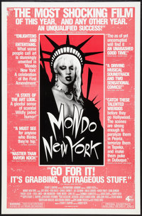 "Mondo New York (Fourth and Broadway, 1988). One Sheet (27"" X 41""). Documentary"