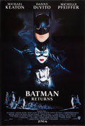 "Movie Posters:Action, Batman Returns (Warner Brothers, 1992). One Sheets (4) (27"" X 40"")DS & SS Advance Penguin, Catwoman, Cast, & Bat Styles.Ac... (Total: 4 Items)"