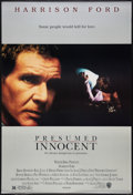 """Movie Posters:Thriller, Presumed Innocent Lot (Warner Brothers, 1990). One Sheets (2) (27"""" X 40) SS and DS. Thriller.. ... (Total: 2 Items)"""