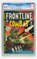 Golden Age (1938-1955):War, Frontline Combat #2 Gaines File pedigree 2/9 (EC, 1951) CGC NM+ 9.6Off-white to white pages....