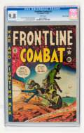 Golden Age (1938-1955):War, Frontline Combat #3 Gaines File pedigree 2/9 (EC, 1951) CGC NM/MT9.8 White pages....