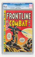 Golden Age (1938-1955):War, Frontline Combat #4 Gaines File pedigree 2/10 (EC, 1952) CGC NM+9.6 Off-white to white pages....