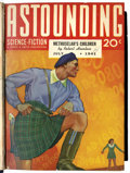 Pulps:Science Fiction, Astounding Stories Pulp Bound Volumes Group (Street & Smith,1930-50) Condition: Average VG.... (Total: 38 Items)