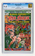 Bronze Age (1970-1979):Adventure, Marvel Feature #3 Red Sonja (Marvel, 1976) CGC NM/MT 9.8 White pages....