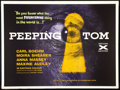 "Movie Posters:Horror, Peeping Tom (Anglo Amalgamated, 1960). British Quad (30"" X 40"").Horror.. ..."
