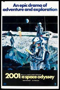 """2001: A Space Odyssey (MGM, 1968). One Sheet (27"""" X 41"""") Style B. Science Fiction"""