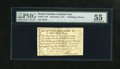 Colonial Notes:North Carolina, North Carolina December, 1771 2s/6d PMG About Uncirculated 55. This denomination comes with two different vignettes, the hou...