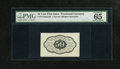 Fractional Currency:First Issue, Fr. 1313SP 50c First Issue Narrow Margin Face Specimen PMG GemUncirculated 65 What appears to be an exemplary example of th...