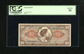 Military Payment Certificates:Series 641, Series 641 $10 PCGS Choice About New 53. This lightly handled noteis from the second printing....