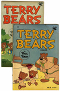 "Golden Age (1938-1955):Funny Animal, Terry Bears Comics #2 and 3 Davis Crippen (""D"" Copy) pedigree Group(St. John, 1952-53).... (Total: 2 Comic Books)"