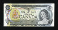 Canadian Currency: , BC-46aA $1 1973.. ...