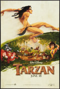 "Movie Posters:Animated, Tarzan (Buena Vista, 1999). One Sheets (2) (27"" X 40"") DS Advances.Animated.. ... (Total: 2 Items)"