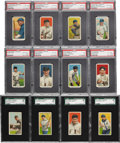 "Baseball Cards:Lots, 1909-11 T206 Sweet Caporal Collection (24) - All ""350-460 factory42 Overprints!..."