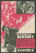 "Movie Posters:Adventure, Derelict Lot (Paramount, 1930). Heralds (2) (6"" X 9"" Folded Out).Adventure.. ... (Total: 2 Items)"
