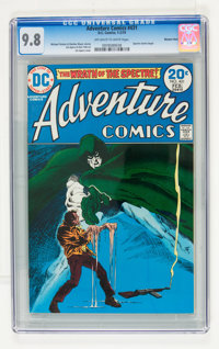 Adventure Comics #431 Western Penn pedigree (DC, 1974) CGC NM/MT 9.8 Off-white to white pages