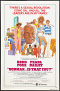 """Movie Posters:Comedy, Norman... Is That You? Lot (MGM, 1976). One Sheet (27"""" X 41"""") and Lobby Card Set of 8 (11"""" X 14""""). Comedy.. ... (Total: 9 Items)"""