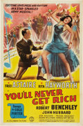 """Movie Posters:Musical, You'll Never Get Rich (Columbia, 1941). One Sheet (27"""" X 41"""") Style A.. ..."""