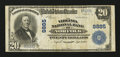 National Bank Notes:Virginia, Norfolk, VA - $20 1902 Plain Back Fr. 653 The Virginia NB Ch. #9885. ...