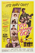"Movie Posters:Rock and Roll, Go, Johnny, Go! (Hal Roach, 1959). One Sheet (27"" X 41"").. ..."