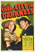 """Movie Posters:Mystery, Charlie Chan in City in Darkness (20th Century Fox, 1939). One Sheet (27"""" X 41"""").. ..."""