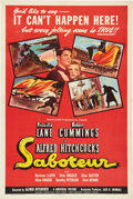 """Movie Posters:Hitchcock, Saboteur (Universal, 1942). One Sheet (27"""" X 41"""") Style D.. ..."""