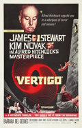 "Movie Posters:Hitchcock, Vertigo (Paramount, R-1961). International One Sheet (27"" X 41"")....."