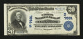 National Bank Notes:West Virginia, Clarksburg, WV - $20 1902 Plain Back Fr. 650 The Union NB Ch. #(S)7681. ...