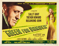 "Green for Danger (Eagle Lion, 1946). Lobby Card Set of 8 (11"" X 14""). ... (Total: 8 Items)"