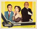 "Movie Posters:Film Noir, Sunset Boulevard (Paramount, 1950). Lobby Cards (2) (11"" X 14"")..... (Total: 2 Items)"