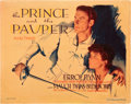"Movie Posters:Adventure, The Prince and the Pauper (Warner Brothers, 1937). Title Lobby Card(11"" X 14"").. ..."