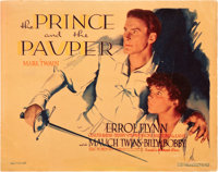 """The Prince and the Pauper (Warner Brothers, 1937). Title Lobby Card (11"""" X 14"""")"""