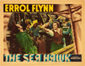 "Movie Posters:Adventure, The Sea Hawk (Warner Brothers, 1940). Lobby Card (11"" X 14"").. ..."