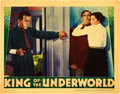 """Movie Posters:Crime, King of the Underworld (Warner Brothers, 1939). Lobby Card (11"""" X14"""").. ..."""