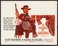 "A Fistful of Dollars (United Artists, 1967). Half Sheet (22"" X 28""). Western"