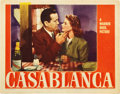 "Movie Posters:Drama, Casablanca (Warner Brothers, 1942). Lobby Card (11"" X 14"").. ..."