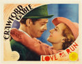 """Movie Posters:Comedy, Love On the Run (MGM, 1936). Lobby Card (11"""" X 14"""").. ..."""