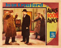"""Movie Posters:Drama, Dance Fools Dance (MGM, 1931). Lobby Cards (2) (11"""" X 14"""").. ...(Total: 2 Items)"""