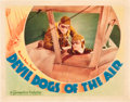 "Movie Posters:Action, Devil Dogs of the Air (Warner Brothers, 1935). Lobby Card (11"" X14"").. ..."