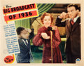 "Movie Posters:Musical, The Big Broadcast of 1936 (Paramount, 1935). Lobby Card (11"" X 14"").. ..."