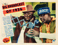 "Movie Posters:Musical, The Big Broadcast of 1936 (Paramount, 1935). Lobby Card (11"" X14"").. ..."