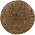 Colonials, 1785 COPPER Vermont Copper, VERMONTS VF35 PCGS....