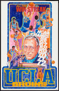 """Movie Posters:Sports, UCLA Bruins Basketball (UCLA, 1972). Posters (2) (22.5"""" X 35""""). Sports.. ... (Total: 2 Items)"""