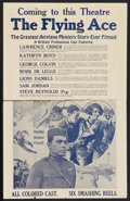 "Movie Posters:Black Films, The Flying Ace (Norman, 1926). Herald (14"" X 22""). Black Films....."