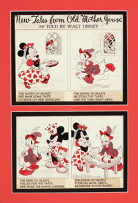 HANK PORTER (American, d. 1951) New Tales from Old Mother Goose, The Queen of Hearts, Good Housekeeping page