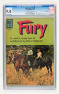 Silver Age (1956-1969):Adventure, Four Color #1296 Fury - File Copy (Dell, 1962) CGC NM 9.4 Off-white to white pages....