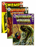 Bronze Age (1970-1979):Horror, Swamp Thing Group (DC, 1972-74) Condition: Average FN.... (Total: 6Comic Books)