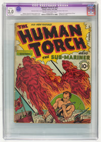 The Human Torch #2 (#1) (Timely, 1940) CGC Apparent GD/VG 3.0 Slight (A) Cream to off-white pages